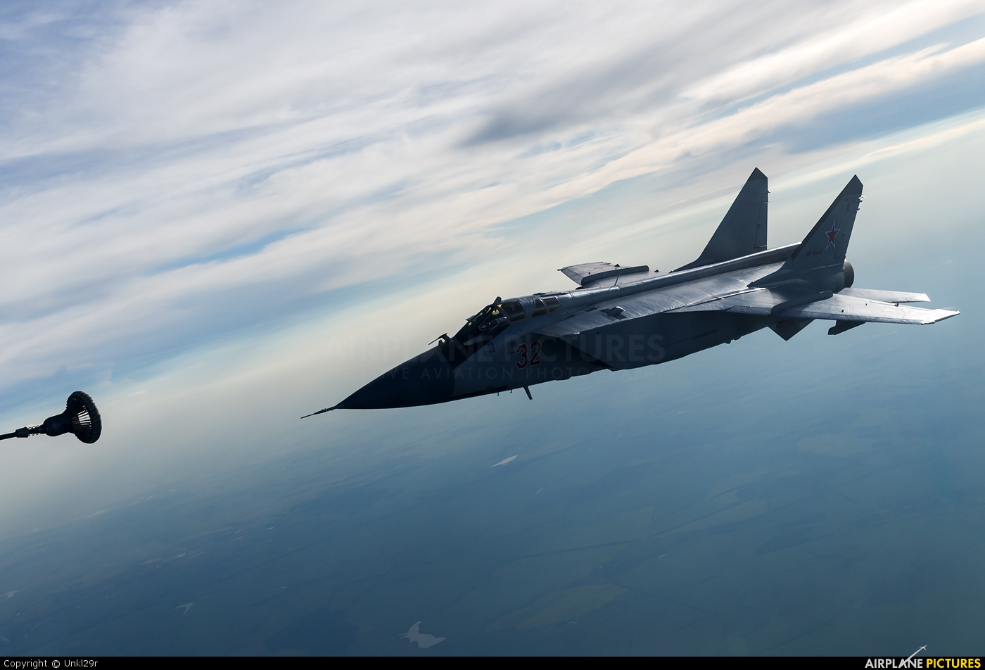 Russia - Air Force 32 aircraft at In Flight - Russia