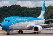 LV-FSK - Aerolineas Argentinas Boeing 737-800 aircraft