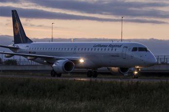 D-AEBR - Lufthansa Regional - CityLine Embraer ERJ-195 (190-200)