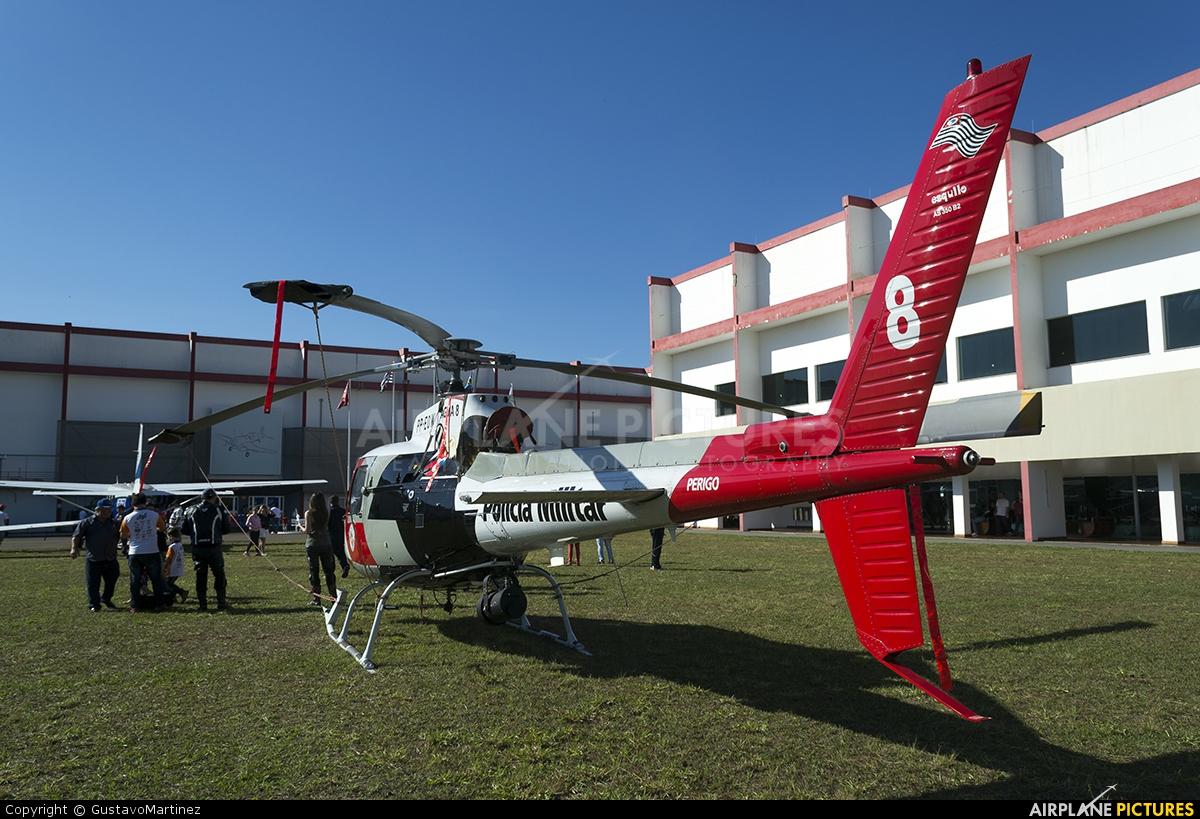 Police Aviation Services PP-EOW aircraft at Museum TAM - São Carlos, SP
