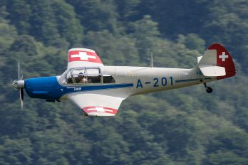 HB-HEB - Private Messerschmitt Bf.108 Taifun
