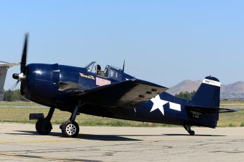 N1078Z - American Airpower Heritage Museum (CAF) Grumman F6F Hellcat