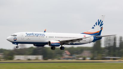 TC-SED - SunExpress Boeing 737-800