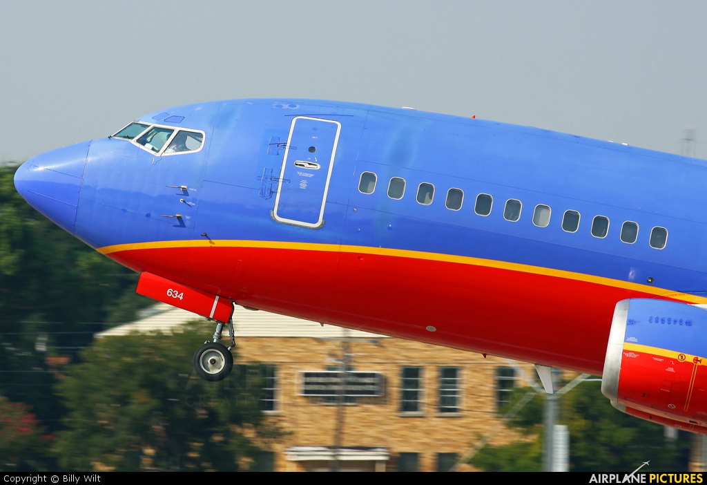 Southwest Airlines N634SW aircraft at Dallas - Love Field