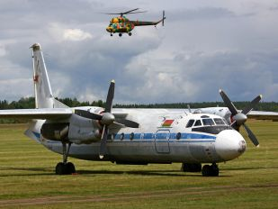 01 YELLOW - Belarus - Air Force Antonov An-24