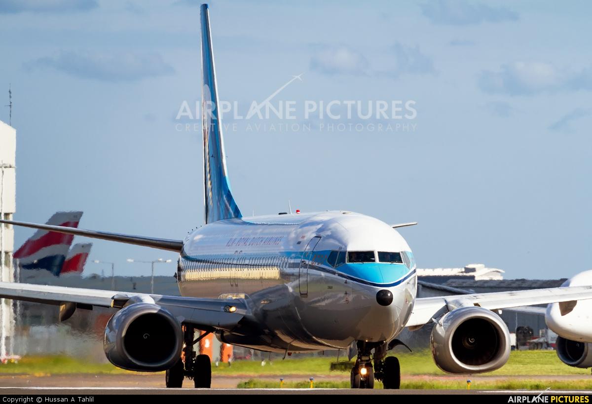 KLM PH-BXA aircraft at London - Heathrow