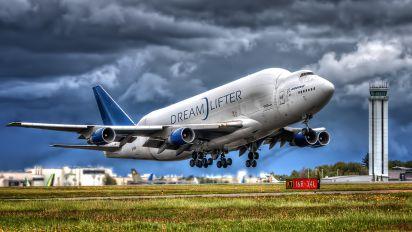 N718BA - Boeing Company Boeing 747-400LCF Dreamlifter
