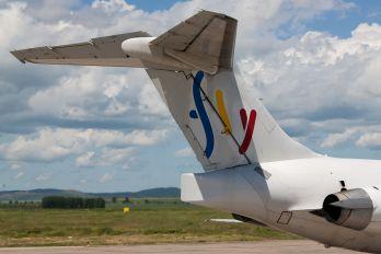 YR-OTY - Fly Romania - Ten Airways McDonnell Douglas MD-83