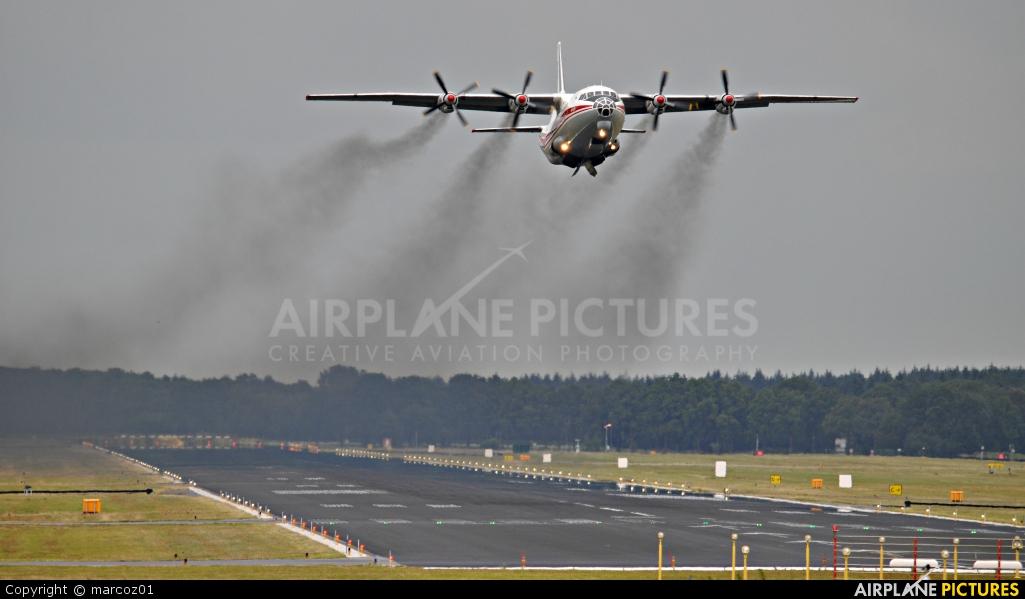 Ukraine Air Alliance UR-CAH aircraft at Eindhoven
