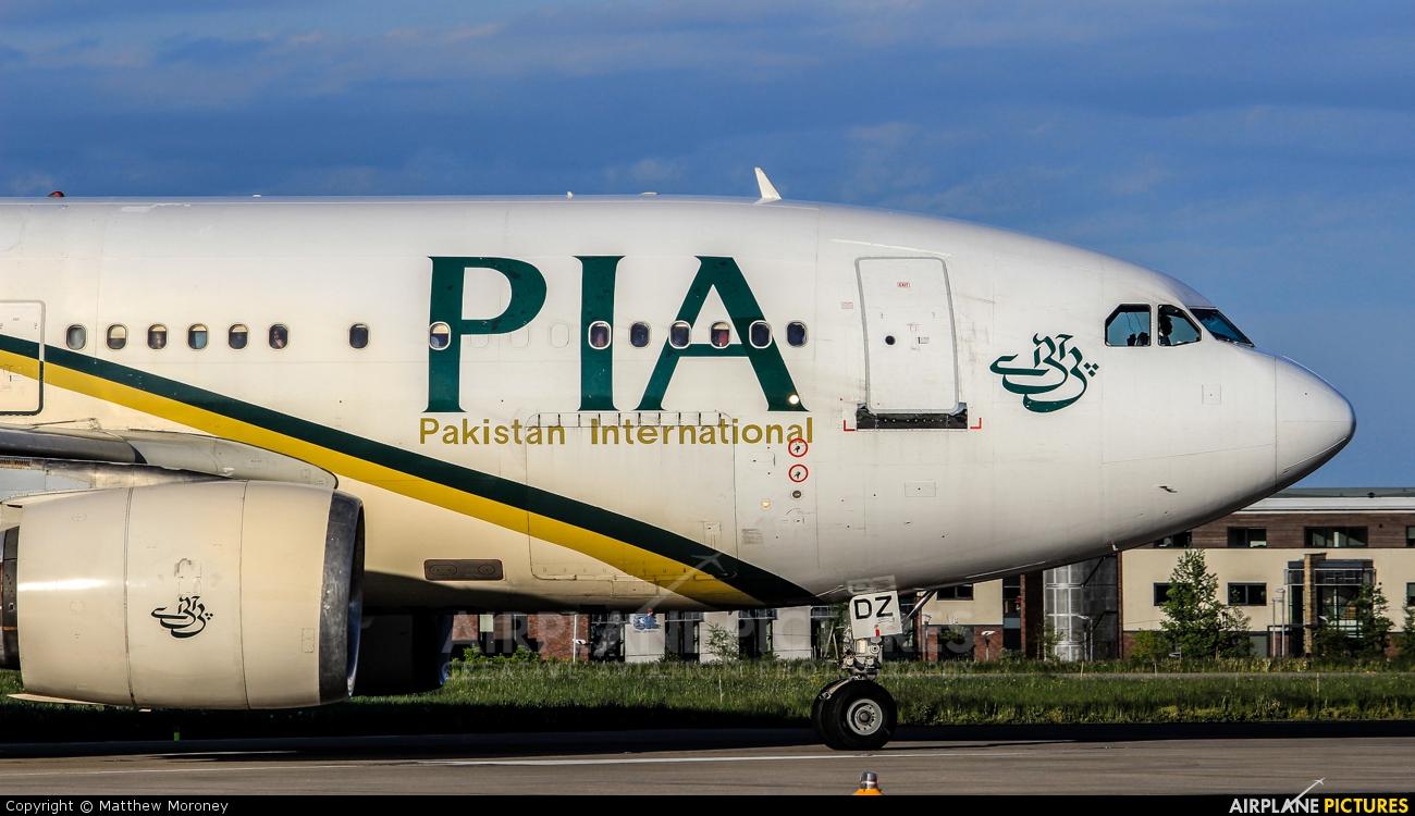 PIA - Pakistan International Airlines AP-BDZ aircraft at Leeds Bradford