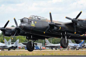 """AP474 - Royal Air Force """"Battle of Britain Memorial Flight&quot Avro 683 Lancaster VII"""