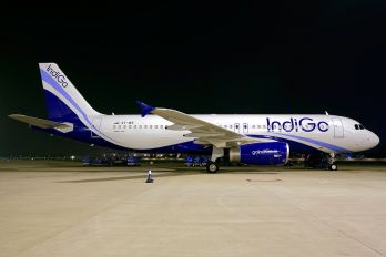VT-IEF - IndiGo Airbus A320