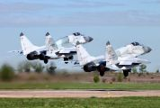 32 - Russia - Air Force Mikoyan-Gurevich MiG-29SMT aircraft