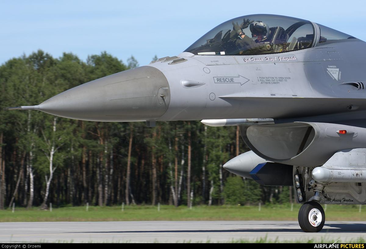 USA - Air Force 91-0342 aircraft at Łask AB