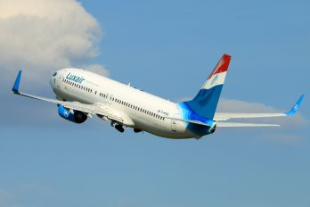 F-HJUL - Luxair Boeing 737-800