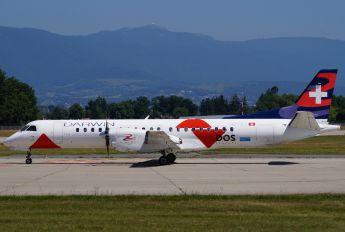 HB-IZJ - Darwin Airline SAAB 2000
