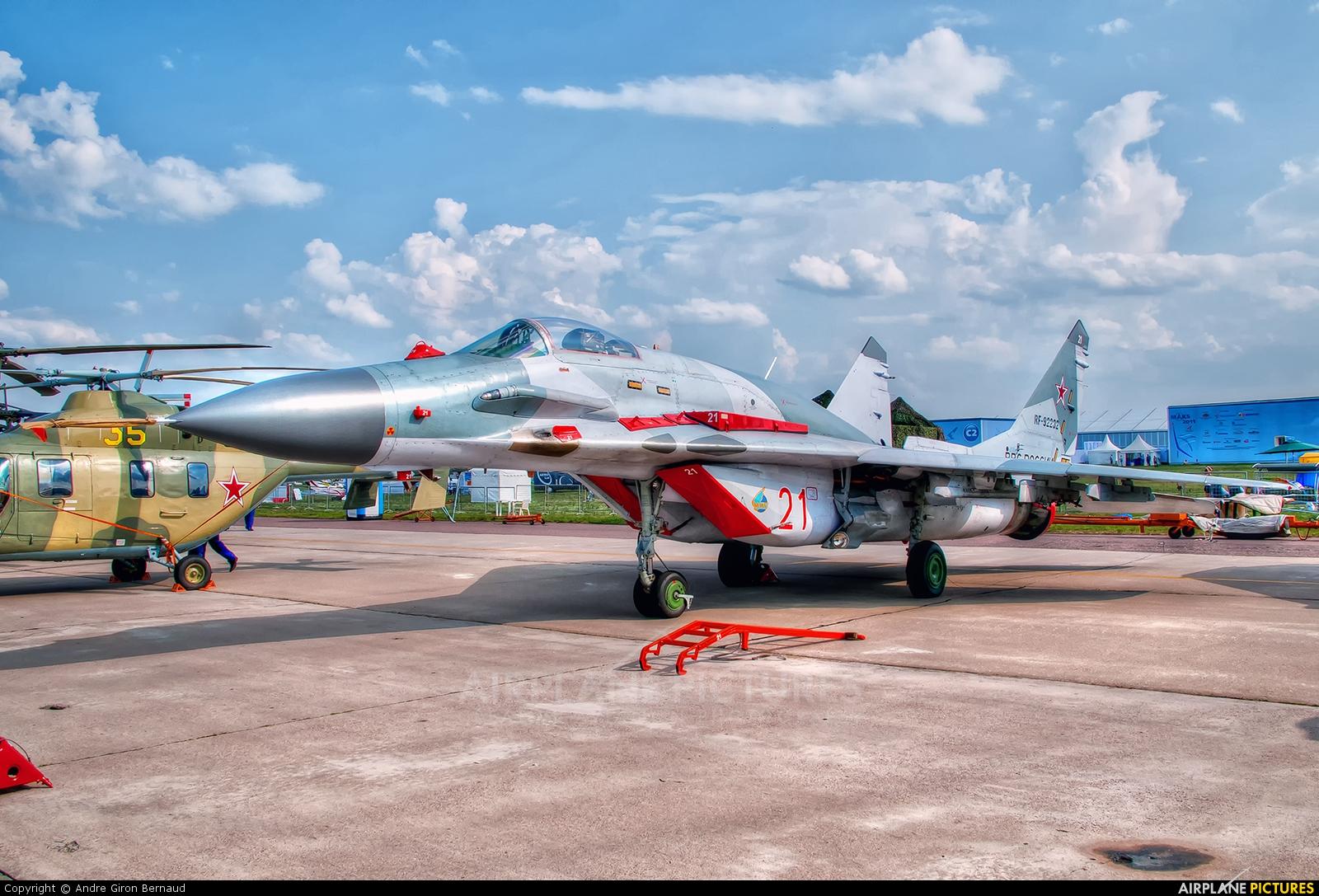 Russia - Air Force 21 aircraft at Ramenskoye - Zhukovsky