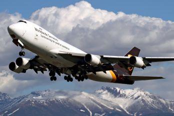 N574UP - UPS - United Parcel Service Boeing 747-400F, ERF