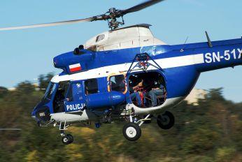 SN-51XP - Poland - Police PZL Kania