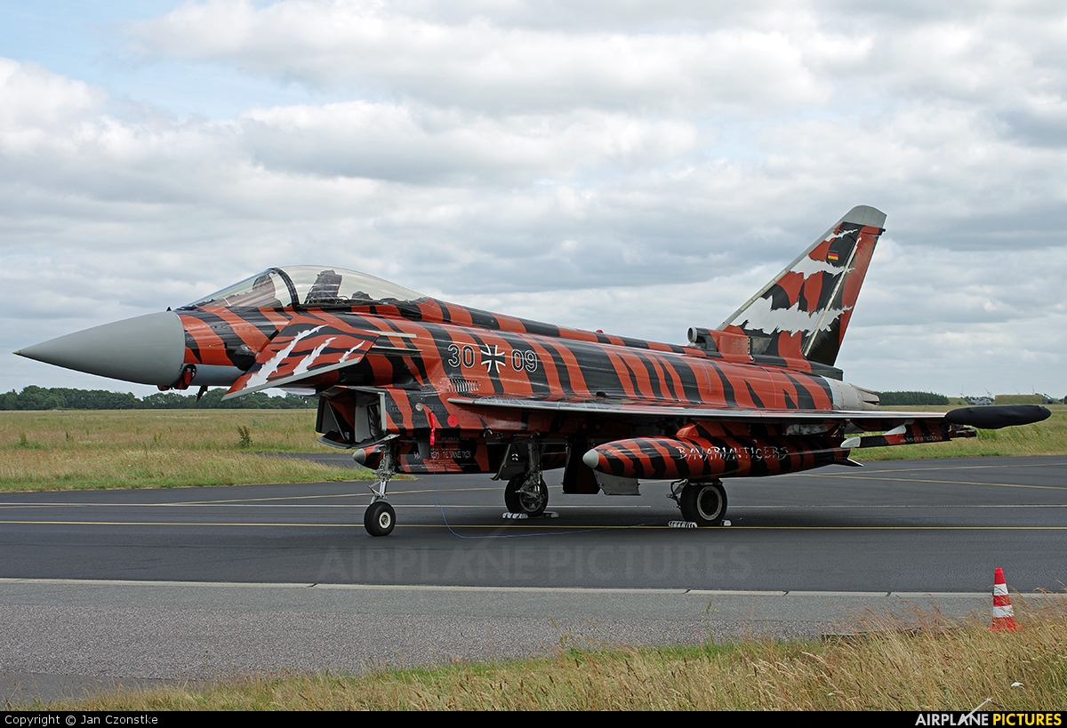 Germany - Air Force 30+09 aircraft at Schleswig-Jagel