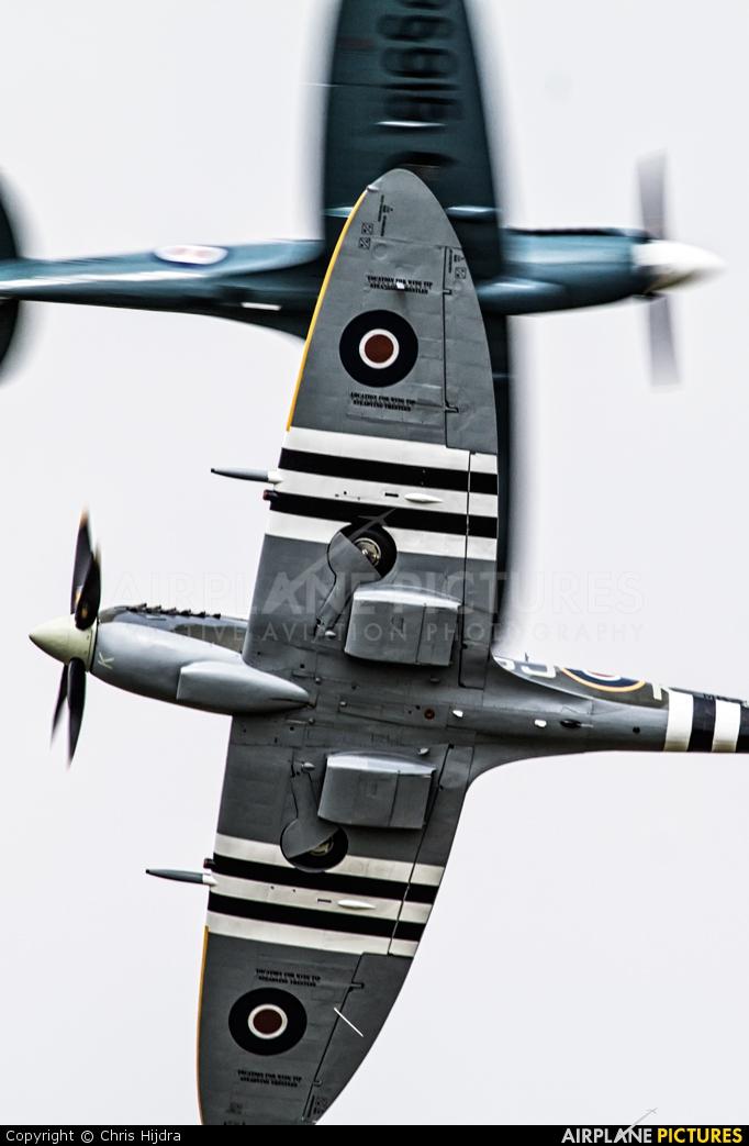 "Royal Air Force ""Battle of Britain Memorial Flight"" MK356 aircraft at Gilze-Rijen"