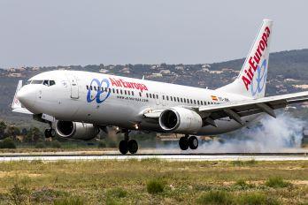 EC-JBK - Air Europa Boeing 737-800