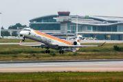 EC-LJX - Air Nostrum - Iberia Regional Canadair CL-600 CRJ-1000 aircraft