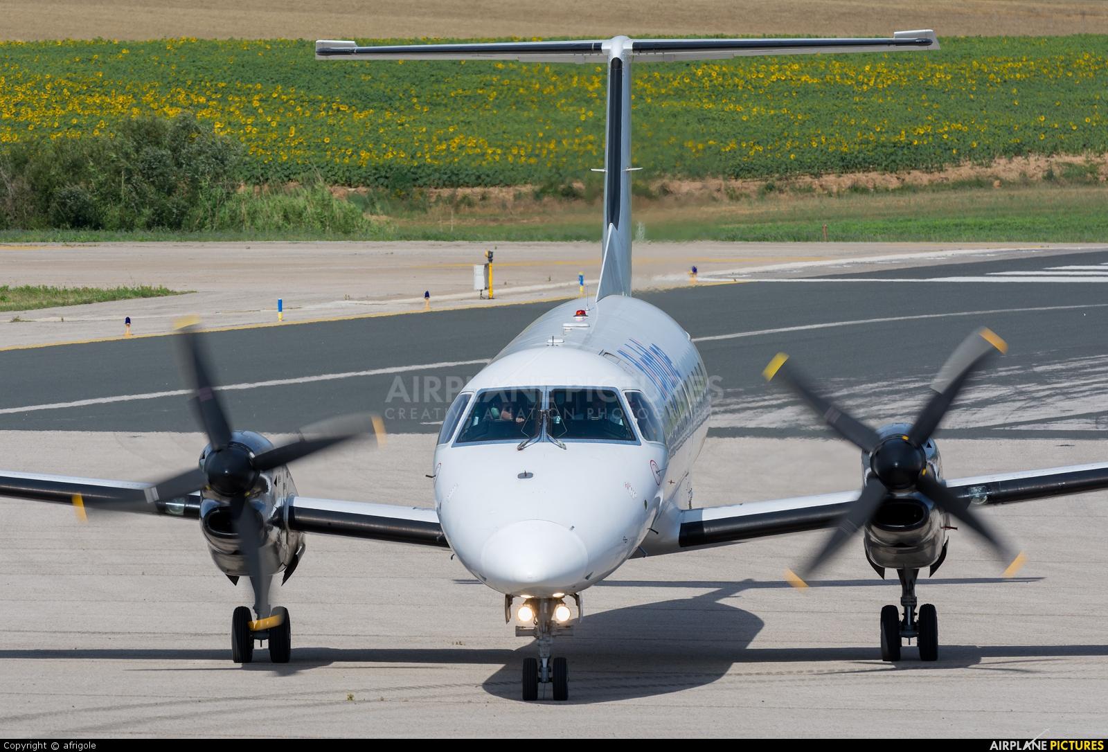Flightline EC-HHN aircraft at Girona - Costa Brava