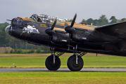 "PA474 - Royal Air Force ""Battle of Britain Memorial Flight"" Avro 683 Lancaster B. I aircraft"