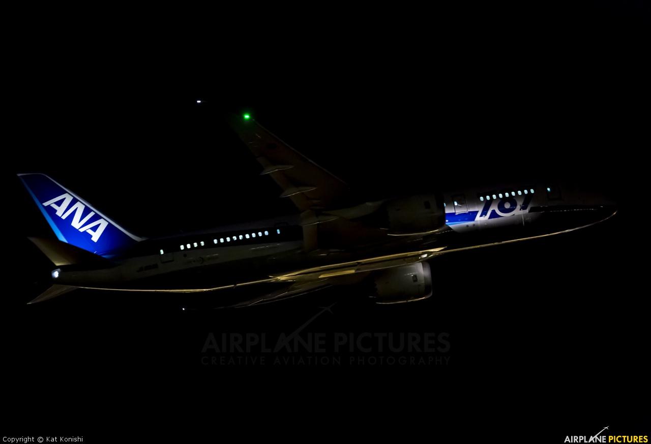 ANA - All Nippon Airways JA808A aircraft at Tokyo - Narita Intl