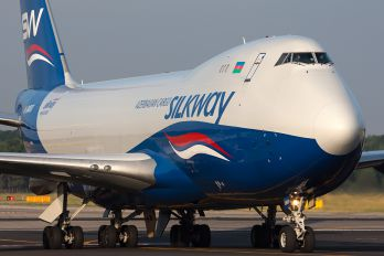 4K-SW800 - Silk Way Airlines Boeing 747-400F, ERF
