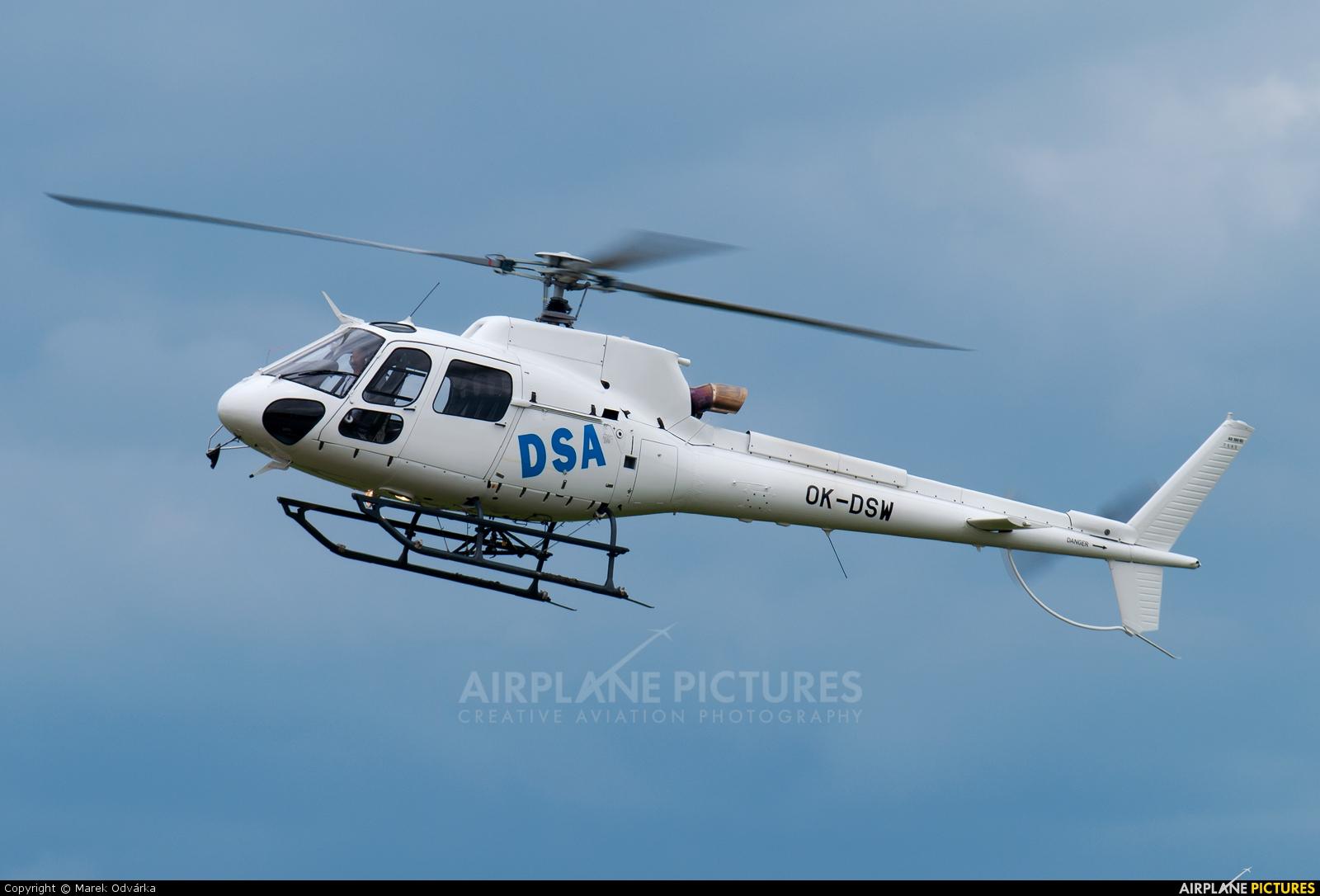 DSA - Delta System Air OK-DSW aircraft at Hradec Králové
