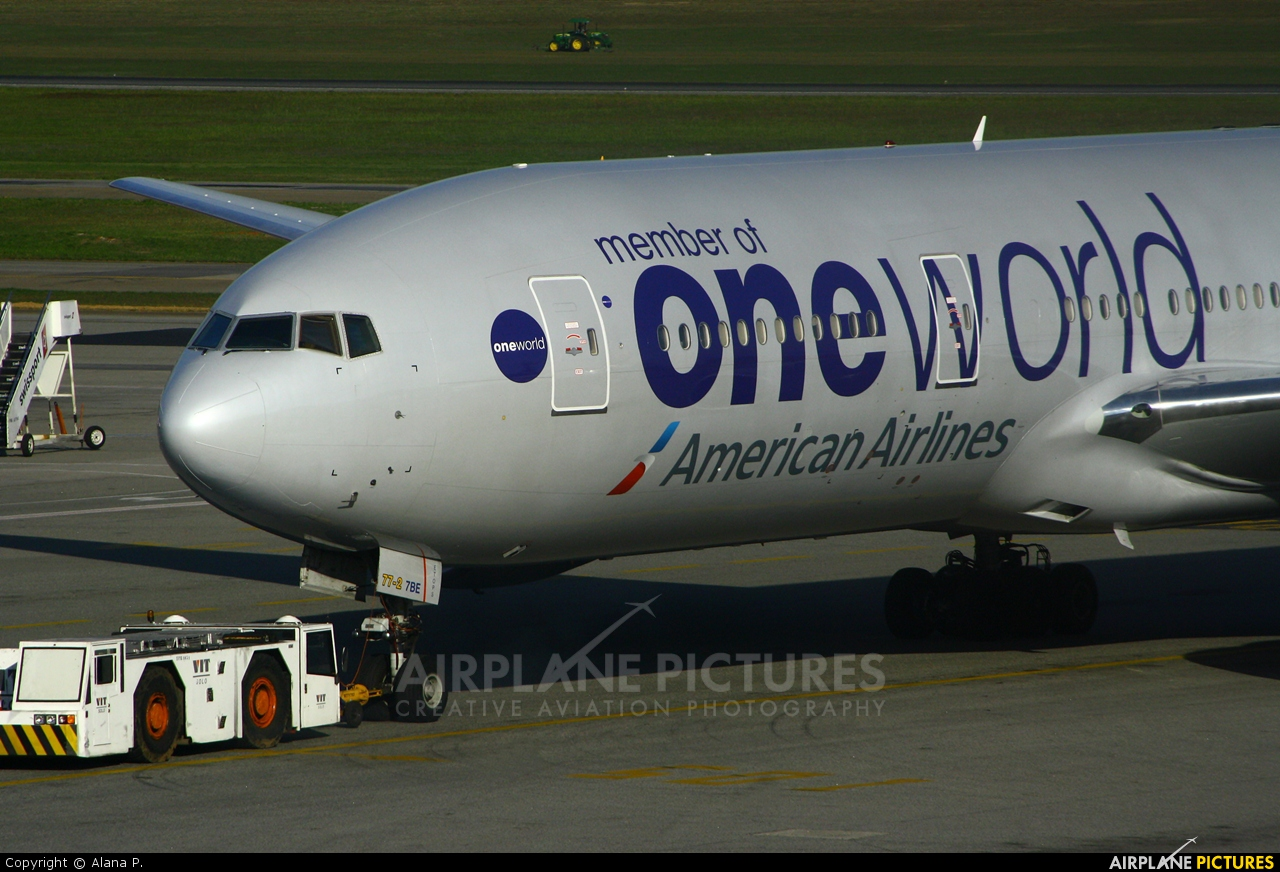 American Airlines N796AN aircraft at São Paulo - Guarulhos