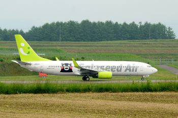 JA802X - Solaseed Air - Skynet Asia Airways Boeing 737-800