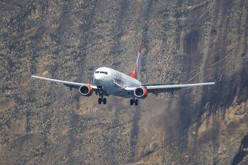 PR-GUV - GOL Transportes Aéreos  Boeing 737-800