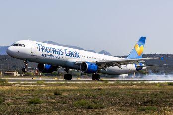 OY-VKE - Thomas Cook Scandinavia Airbus A321