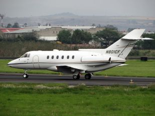 N801CF - Private Hawker Beechcraft 800