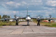 14 - Russia - Air Force Tupolev Tu-95 aircraft