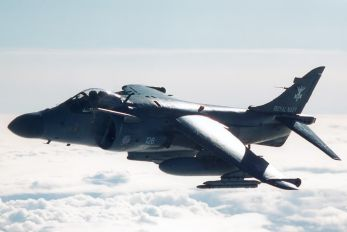 ZE695 - Royal Navy British Aerospace Sea Harrier FA.2
