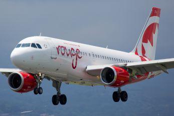 C-GBHO - Air Canada Rouge Airbus A319
