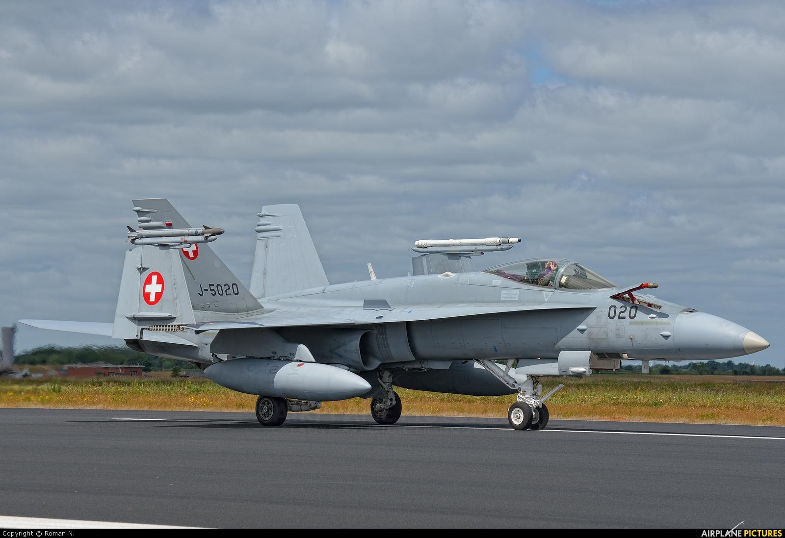 Switzerland - Air Force J-5020 aircraft at Schleswig-Jagel