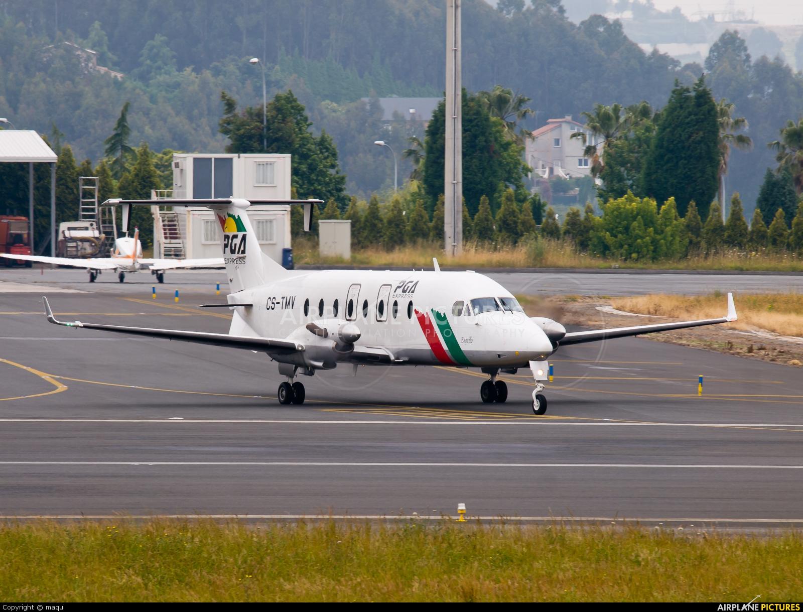 PGA Portugalia CS-TMV aircraft at La Coruña