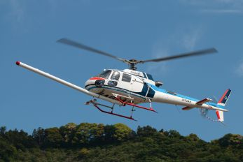 JA02AH - Nakanihon Air Service Aerospatiale AS350 Ecureuil / Squirrel