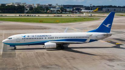 B-5658 - Xiamen Airlines Boeing 737-800