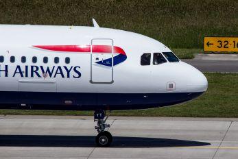G-EUYT - British Airways Airbus A320
