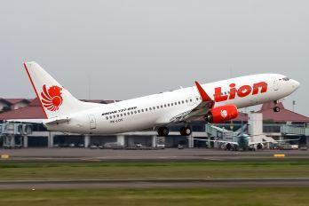 PK-LOV - Lion Airlines Boeing 737-800