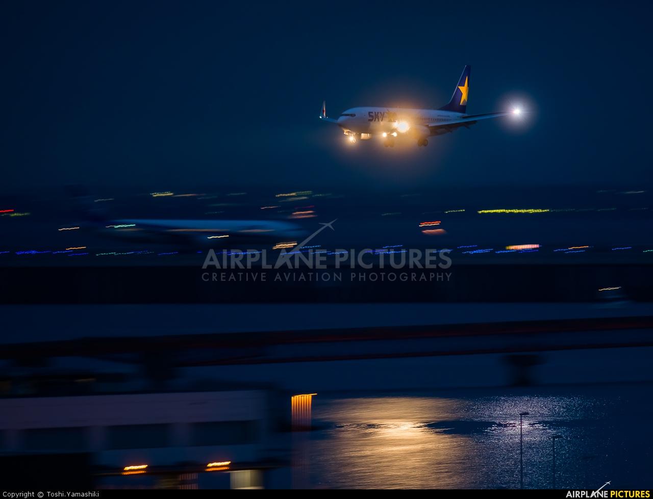 Skymark Airlines JA737Y aircraft at Tokyo - Haneda Intl