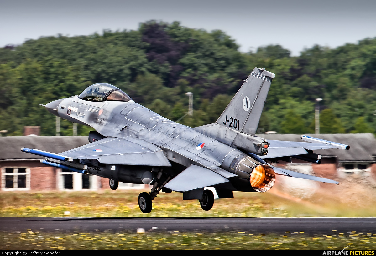Netherlands - Air Force J-201 aircraft at Gilze-Rijen