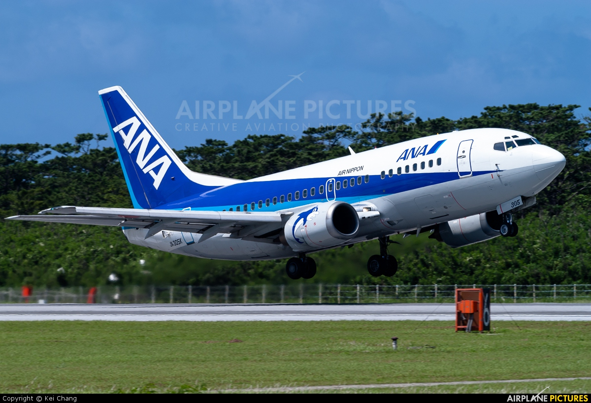 ANA/ANK - Air Nippon JA305K aircraft at Shimojishima