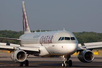 A7-AHY - Qatar Airways Airbus A320